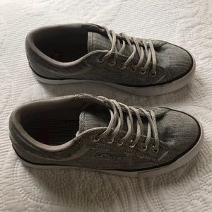Heather Grey Levi Sneakers